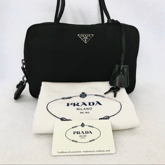 4d8e60974d8910 Prada Bags | Authentic Tessuto Key Lock Satchel Dustbag | Poshmark